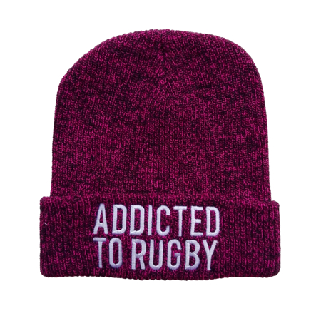 ADDICTED TO RUGBY BEANIE