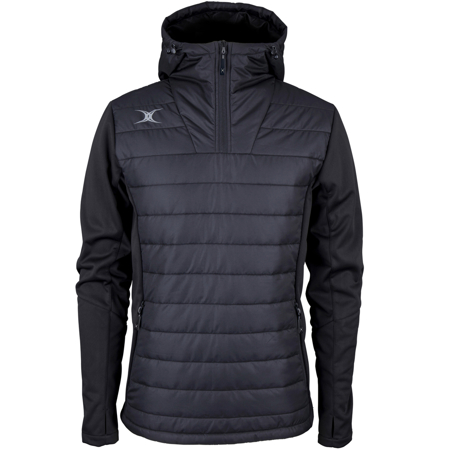 GILBERT PRO ACTIVE 1/4 ZIP JACKET - BLACK